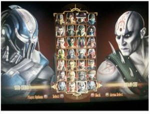 Mortal Kombat Character Selection Roster Leaked