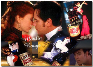 Moulin Rouge Theme With 10 Backgrounds