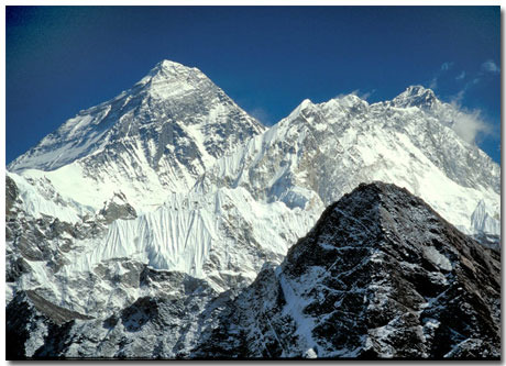 Fly High: Mount Everest Theme With 10 Backgrounds