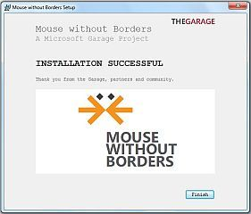 How to share a mouse between two computers: Mouse without borders
