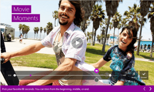 Create & share short 60 second videos on Windows using Microsoft Movie Moments