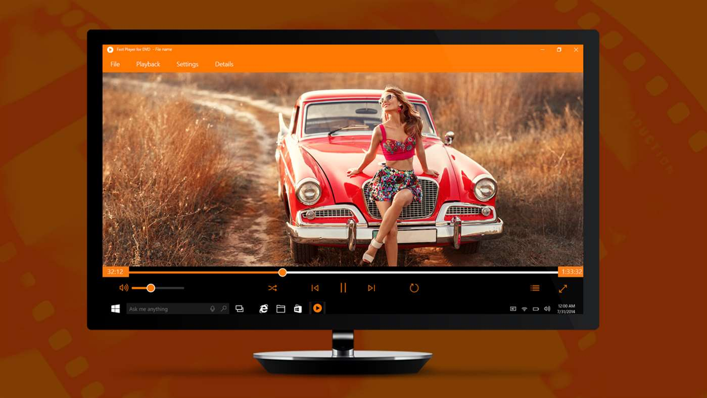 Watch DVD's With Fast Player For DVD On Windows 10
