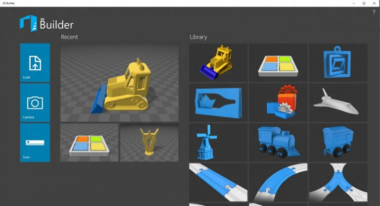 Build 3D Objects On Windows 10 With 3D Builder