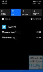 Windows Phone 8.1 Gets A Notification Center