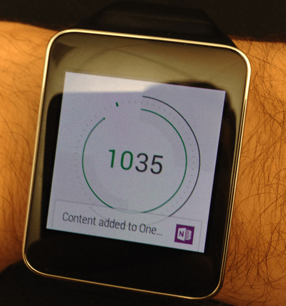 Microsoft's OneNote Gets Android Wear and iOS 8 Updates