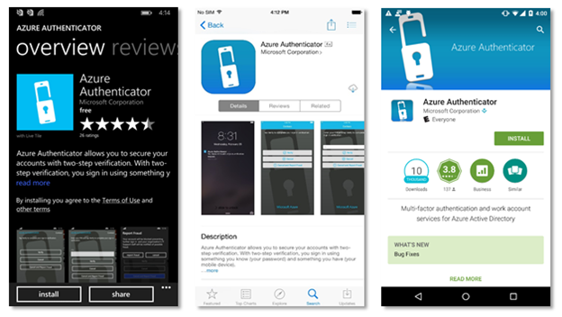 Microsoft Releases Mobile Azure Authentication App