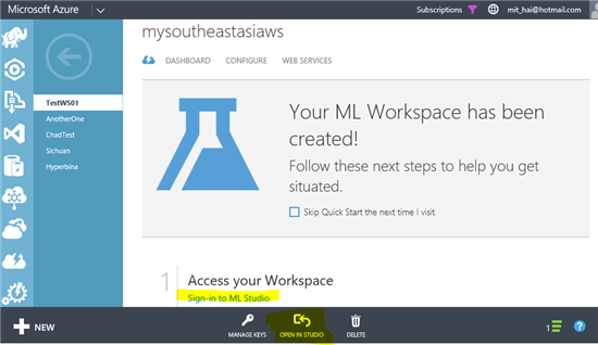 Microsoft Lets Users Access ML Workspaces In SE Asia With Azure ML