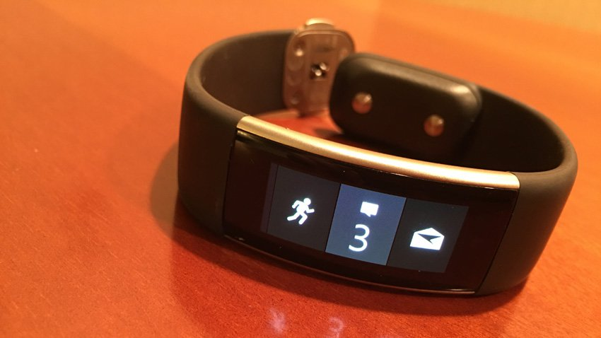 Microsoft's Newest Band Has App Tiles For Users