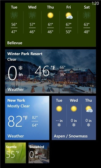 Bing App for Windows Phone 8 Gets Major Weather and Sports Updates