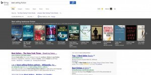 Find Top Best Selling Books Easy On Bing Search
