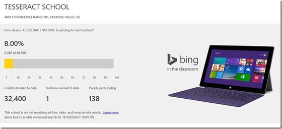 Microsoft Shows Off New Bing Rewards Programs For Schools