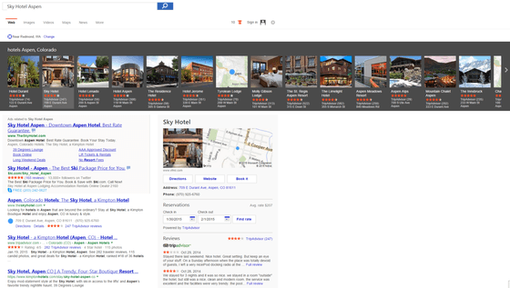 Microsoft Updates Bing Hotel Carousel Features