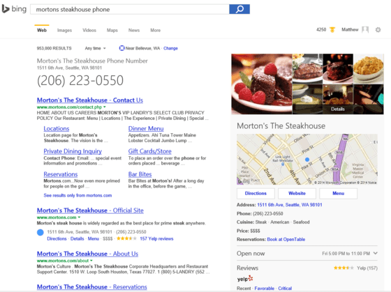 Microsoft Gives Bing Local Updates In Latest Release
