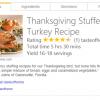 Bing Gets New Recipe Features Before Holiday Launch