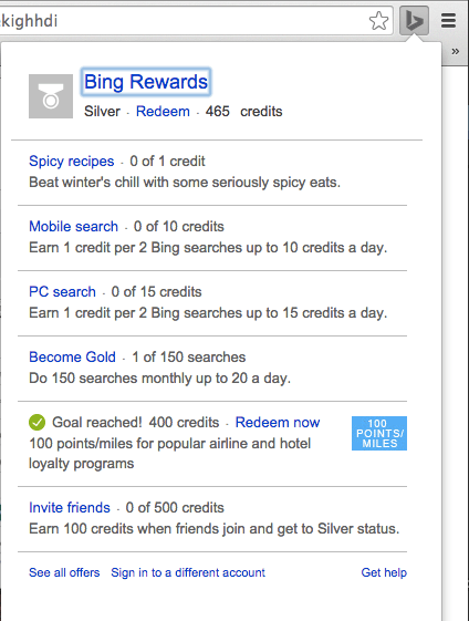 Bing Rewards Gives Chrome And Android Users New Tools