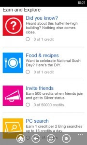 Microsoft Launches Bing Rewards App For Windows Phone 8 Users
