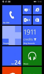 Microsoft Shows Off Updating Live Tiles With Bing Rewards Windows Phone App