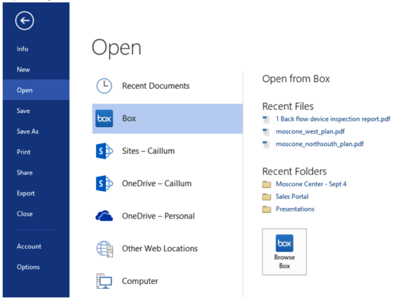 Microsoft's Office 365 Gets Box Integration With New Tools