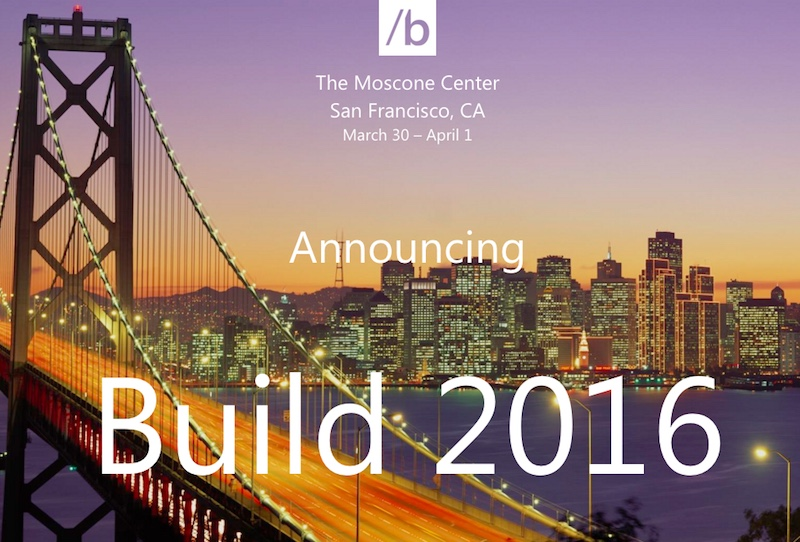 Microsoft Courting Developers To New Build 2016 Event