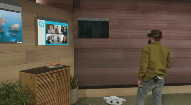 Microsoft Shows Off HoloLens During Build Day 1