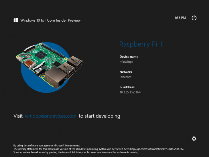 Microsoft Showcases Windows 10 On Raspberry Pi During Build Day 2