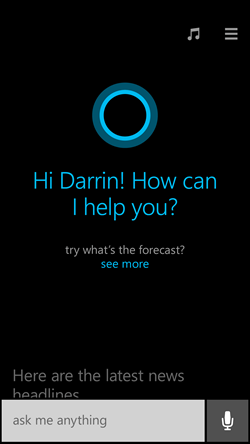 Microsoft Shows Off Cortana It's New Personal Assistant For Windows Phone 8.1