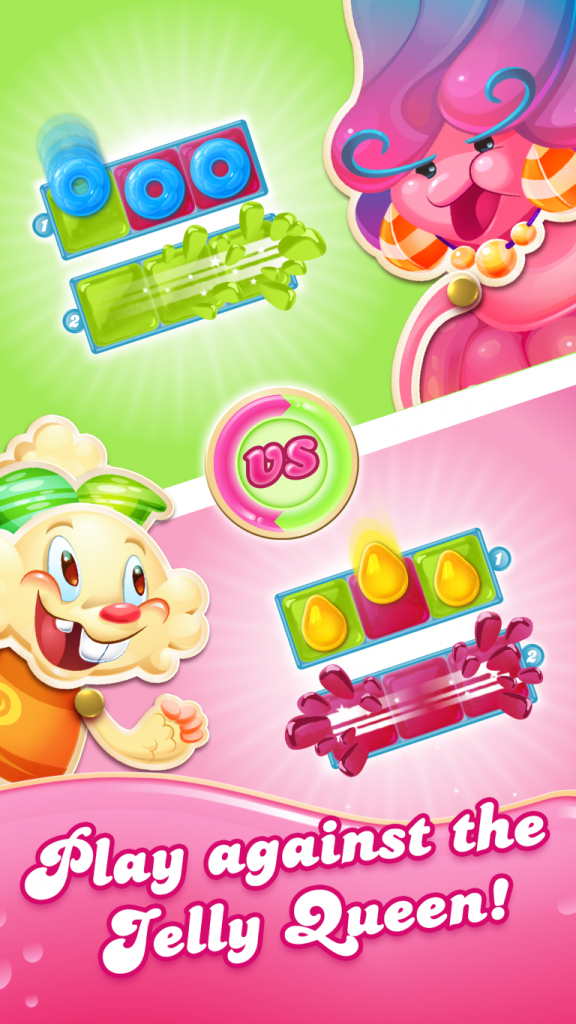 Windows 10 Gets Candy Crush Jelly Saga