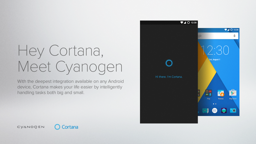 Microsoft Moves Cortana Into Cyanogen Devices This Month