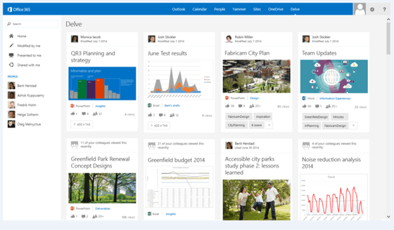 Microsoft Announces First Details On Delve For Office 365