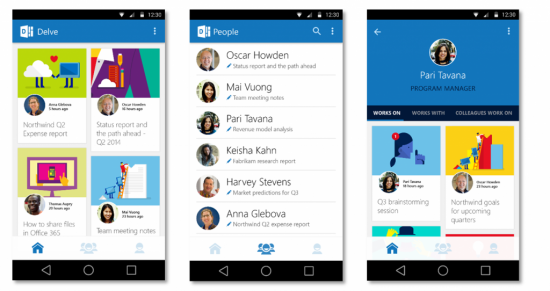 Microsoft's Office Delve Finally Gets Mobile Apps For Viewing On The Road