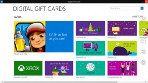Microsoft Debuts Digital Gift Cards For Holidays