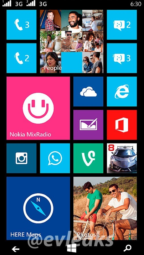 Dual SIM Windows Phone From Nokia And Microsoft Spotted