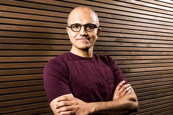 Microsoft's Satya Nadella Leads Earnings Call For First Quarter 2015 Numbers