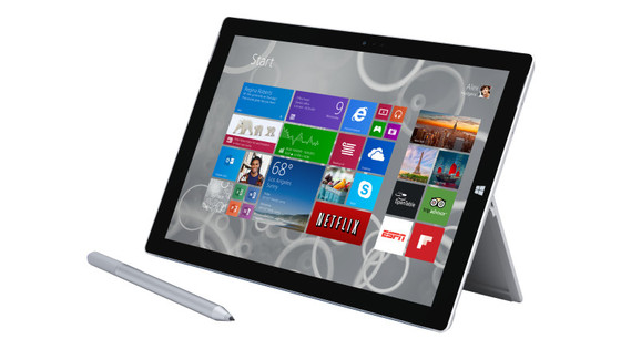 Microsoft's Surface Pro 3 Among Hits For First Quarter Sales Numbers