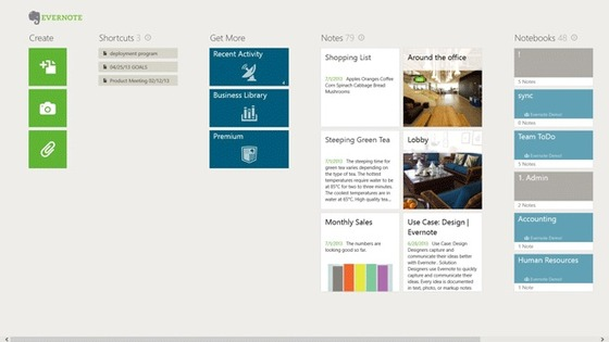 Evernote Update Brings More Touch Features To Windows 8 and 8.1 App