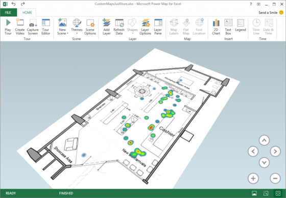 Microsoft Beefs Up Power Map In Excel With Custom Map Updates