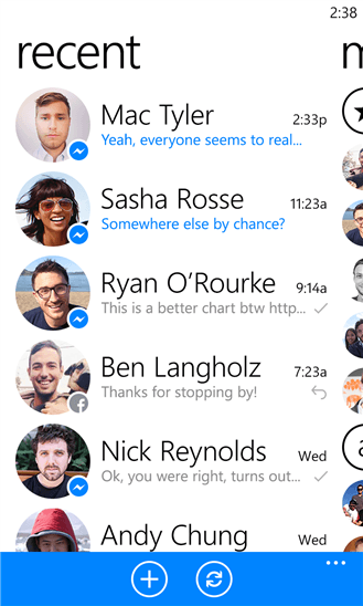 Microsoft Brings Facebook Messenger App To Windows Phones
