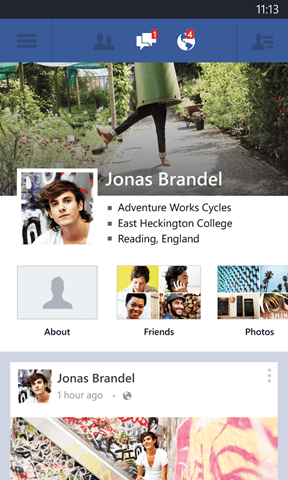 Facebook App For Windows Phone 8 Gets Major Updates