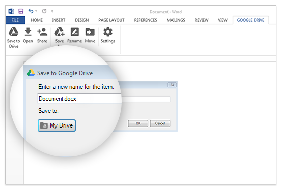 Microsoft Office Gets Official Google Drive Plug-In
