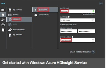 Microsoft Announces Hadoop and Azure Marriage With HDInsight