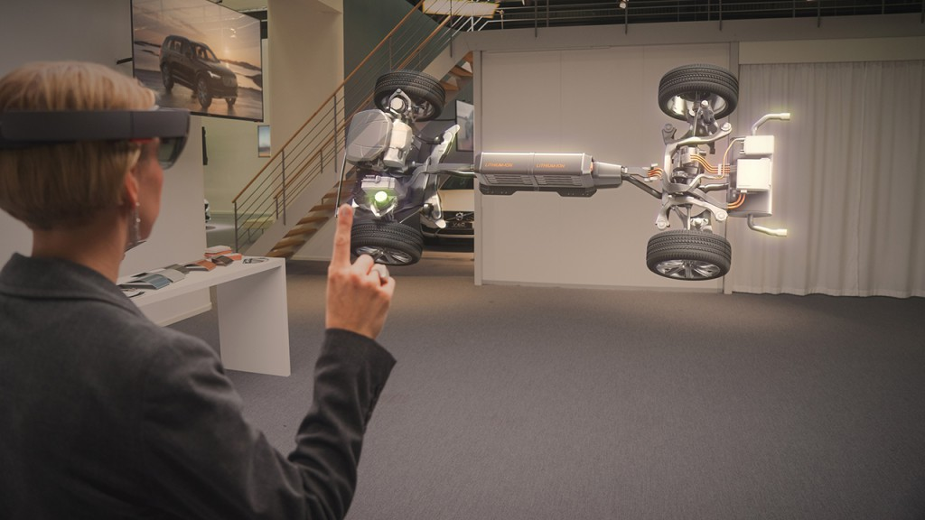 Microsoft's HoloLens Is Product Of 2015
