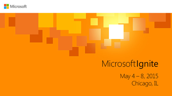 Microsoft Announces Ignite 2015 Plus Other Shows