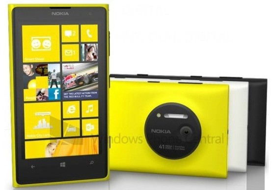 Nokia 1020 Announced With Microsoft's Windows Phone 8 On Board