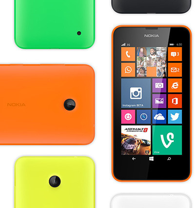 Newest Windows Phone Lumia 630 Launches In Asia