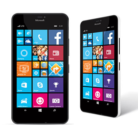 Microsoft Announces Lumia 640XL Availability On AT&T