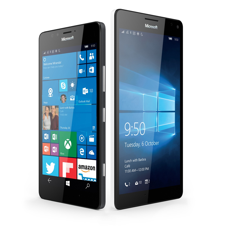 Microsoft Unveils New Flagship Lumia Windows 10 Phones