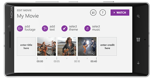 New Video Editing App Arrives On Windows Phone 8.1