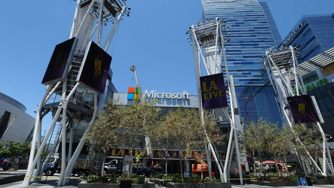 Microsoft Gets Naming Rights To Nokia Theater In LA