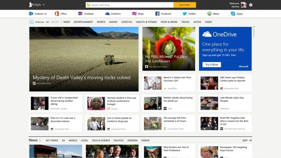 Microsoft Makes News & Content More Visible In MSN Preview