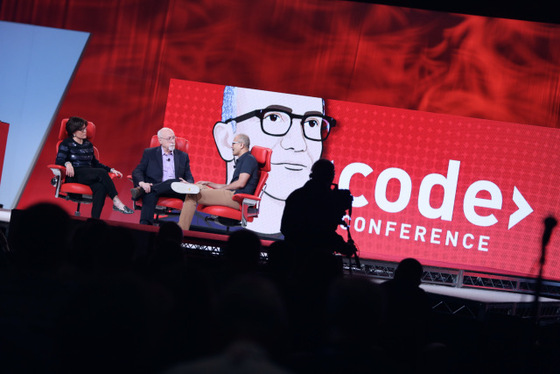 Microsoft Takes Center Stage During Code Conference With Satya Nadella